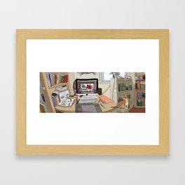 Workroom Framed Art Print