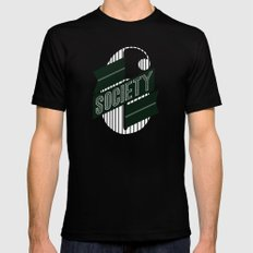 Stop: Banner Time MEDIUM Black Mens Fitted Tee