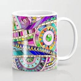 Mosaic colorful background Coffee Mug