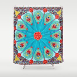 FRAGRANCE OF LOVE Shower Curtain