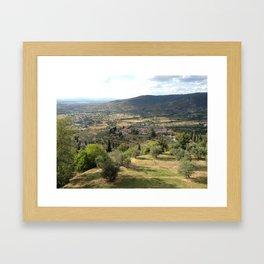 Under the Tuscan Sun Framed Art Print