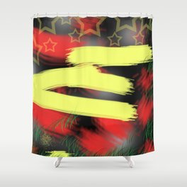 E is for...... Shower Curtain