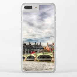Westminster Bridge Clear iPhone Case