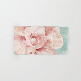 Petals Impasto Mint Hand & Bath Towel