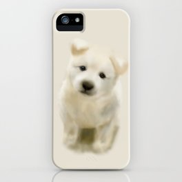 Jindo puppy re iPhone Case