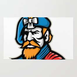 Highlander Mascot Rug