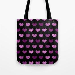 Colorful Cute Hearts VI Tote Bag