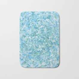 blue and green bubbles Bath Mat