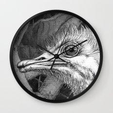 Ostriches G024 Wall Clock