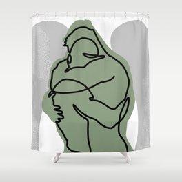 NOODDOOD Lines 15 Shower Curtain
