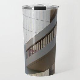 brutalist bridge - roger stevens building leeds Travel Mug