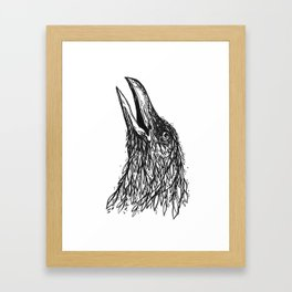 Caw Framed Art Print