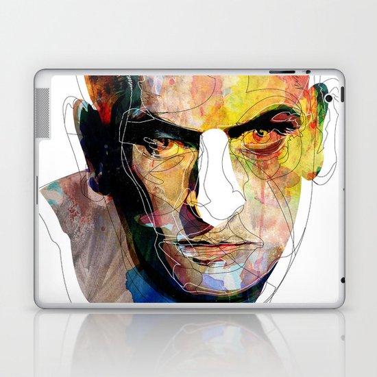 White nose Laptop & iPad Skin
