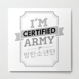 ARMY BTS Metal Print