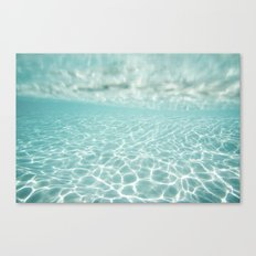 Under Water Light Canvas Print