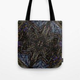 Tree Root Fractal Tote Bag