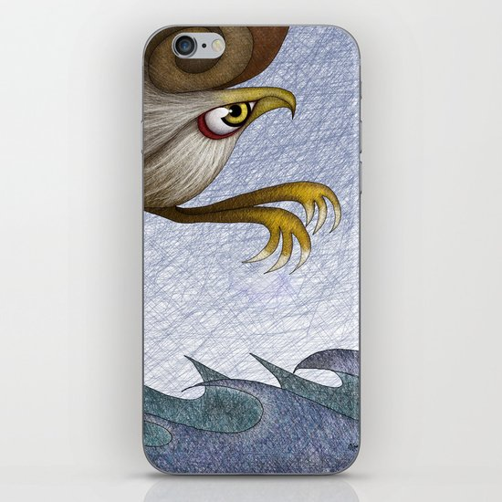 Eagle, they say iPhone & iPod Skin