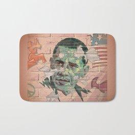 Obama Wall Bath Mat