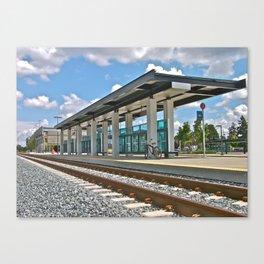 Future Sounder Station Canvas Print