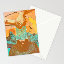WATERING MINDS Stationery Cards