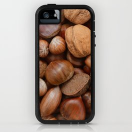 Mixed nuts iPhone Case