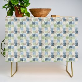 Jungle Set | hand illustrated quilt pattern Credenza