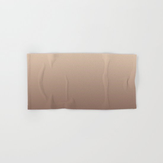 RoseGold Stripes Hand & Bath Towel