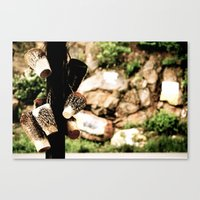 drums Canvas Prints featuring Drums by hvids