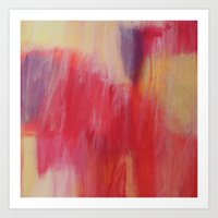 The Painted. Art Print