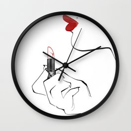 Makeup Wall Clock
