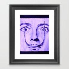 Purple Dali  Framed Art Print
