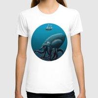kraken T-shirts featuring Kraken by Jay A