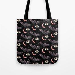 halloween bat pattern Tote Bag