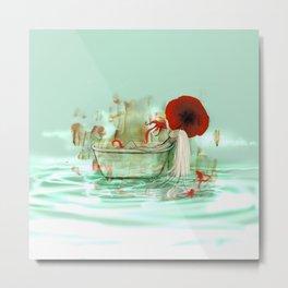 Bath Metal Print