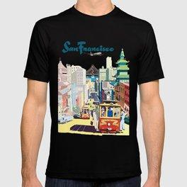 Sanfrancisco vintage mode T-shirt