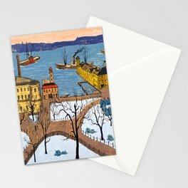 Glenn Coleman Battery Park Stationery Cards