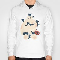 kittens Hoodies featuring Kittens! by Jay Fleck