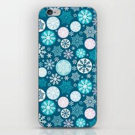 Magical snowflakes IV iPhone Skin