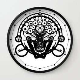 Gravitation Wall Clock