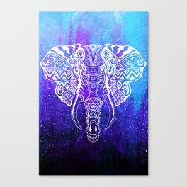 Heavenly Elephant Canvas Print