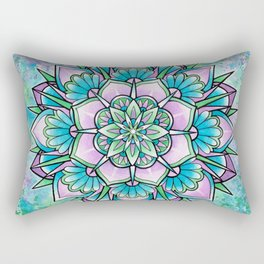Mandala IV Rectangular Pillow