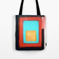 rothko Tote Bags featuring Living Rothko by Heaven7