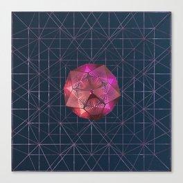 Aligning - Ember Canvas Print