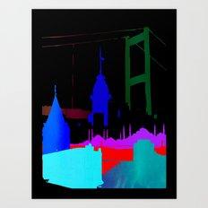 Istanbul Art Print
