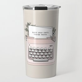 Don't Stop Travel Mug