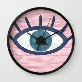 So Blue Wall Clock
