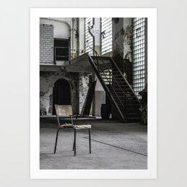 Fabrication Art Print