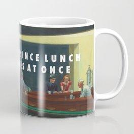 White Nighthawks Coffee Mug