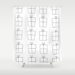 You Are In This World So Let's Celebrate Everyday Shower Curtain
