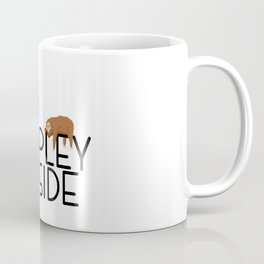 It's Too Peopley Outside Funny Animal Lover Sloth Misanthrope Gift Coffee Mug
